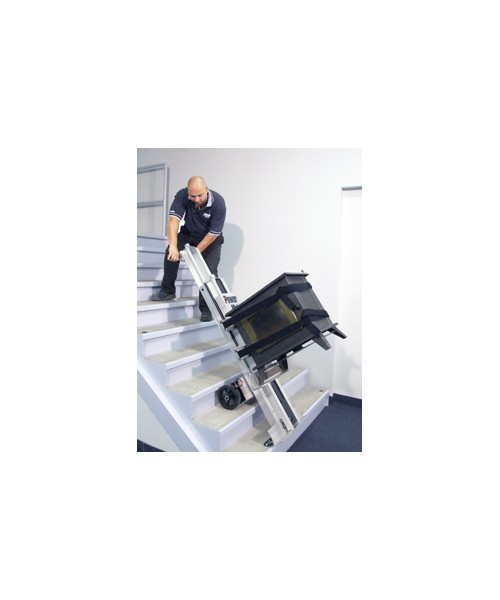 Stair climbers powermatepowermate le 1 stair climbing hand for Motorized stair climbing dolly
